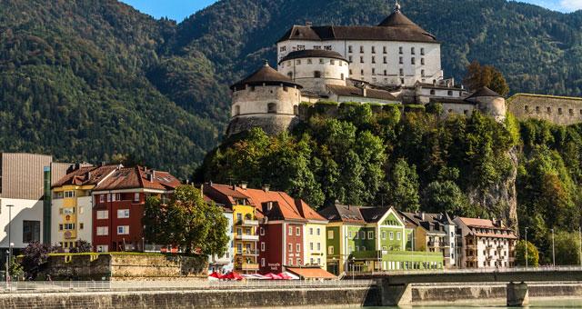 Blick auf Festung Kufstein