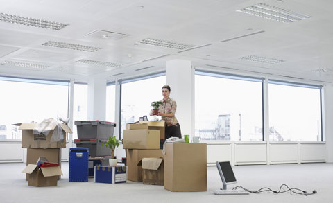 Büro Kramsach Einzug Symbolbild