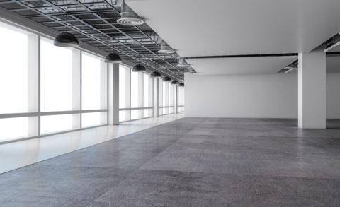 Büro mieten Kufstein leere Bürofläche Symbolbild