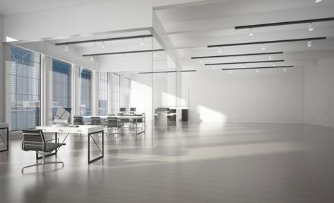 Gewerbeimmobilien Kufstein leeres Büro Symbolbild