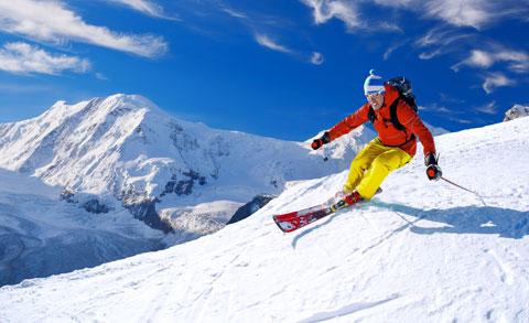 Kramsach Wohnung kaufen Skifahren Symbolbild