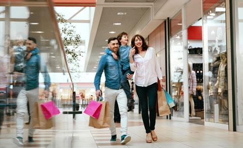 Wohnung Wörgl kaufen Shopping Symbolbild