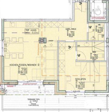 NEUBAU: 2-Zimmer-Wohnung mit Süd-West-Terrasse, 6300 Wörgl, Etagenwohnung